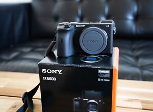 Sony Alpha A6600 Body Only - Less Than 200 Shutter Count