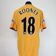 Everton Away Football Shirt Adult Large ROONEY #18 2003/2004