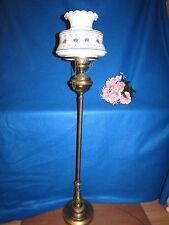 "VTG QUOIZEL ABIGAIL ADAMS HURRICANE GWTW SHADE POLE FLOOR LAMP 52""  3 WAY LIGHT"