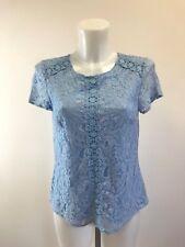 Ladies new ex m&co lace blouse top  size 8 10 12 14 16 18