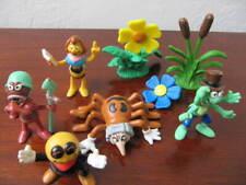 5 Figuren Biene Maja Schleich und 2 Pflanzen