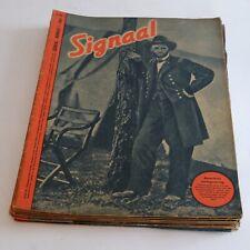 Signaal, Nederlandstalig tijdschrift jaargang 1944 tweede wereldoorlog