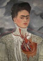 Art Print Poster / Canvas FRIDA KAHLO IMAGE PICTURE