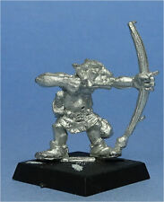 Citadel-orcos & goblins-Goblin Batalla carroza-Crew con arco - 1980s warhammer