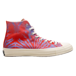 Converse All-Star Chuck Taylor '70 Tie Dye Hi Men's Unisex Red Sneakers Shoes