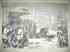 RUSSIE BENEDICTION DE LA NEVA BAL COSTUMé TELEGRAPHE MORSE GRAVURES 1859