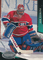 Patrick Roy 1993-94 Parkhurst #100 Montreal Canadiens Hockey Card