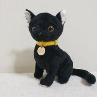 """Vintage CATS The Musical Black Cat souvenir plush 9"""" 1981"""