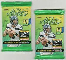 2018  Panini Absolute 2 Unopened Packs Of Football Cards