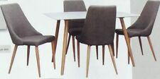 Timber Dining Room Furniture Sets with 5 Pieces