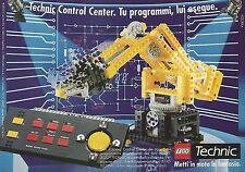 X0305 LEGO - Technic Control Center - Pubblicità del 1992 - Vintage advertising