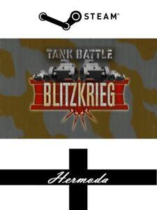 Tank Battle: Blitzkrieg Steam Key - for PC or Mac (Same Day Dispatch)