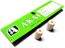 2 NEW Old Stock Akai Tape Cleaning Lubricating Felt Pads M10 X-1800 4000 X-150D