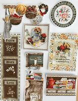 Home Spun Patches - Iron On Fabric Appliques - Country Homemade