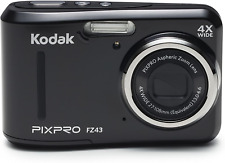 Kodak PIXPRO Friendly Zoom FZ43-BK 16MP Digital Camera with 4X Optical Zoom and