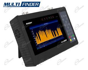 Misuratore di Campo Multifinder strumento Edision per puntare Antenna DVB-S2/T2