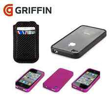 GENUINE GRIFFIN IPHONE 4 / 4S REVEAL CLEAR / POCKET POUCH / OUTFIT CASE COVER