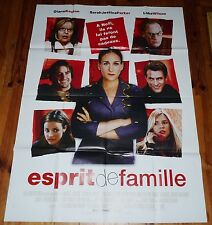 AFFICHE ORIGINALE CINEMA 2005 ESPRIT DE FAMILLE SARAH JESSICA PARKER D. KEATON