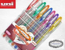 uni-ball 8 sparkling colors roller ball pen MIXED SET great for color paper