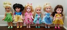 Lot of 6 Disney My First Princess Doll Toddler Dolls