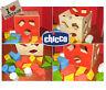 Vintage Gioco CUBO FORME Bambino Infanzia Chicco 18 Incastri forme geometriche