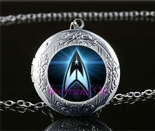 Star Trek Silver coloured Locket Pendant Necklace fr18