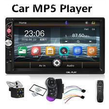 "New Car Radio 2 Din 7"" FM/TF/USB Video MP5 Player WINCE System+Rear View Camera"