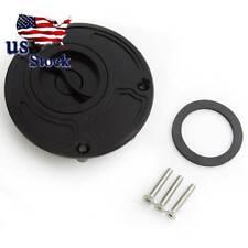 US FXCNC Keyless Gas Fuel Tank Cap Cover For Suzuki SV650/SV650S 2003-2013 Black