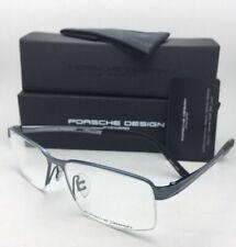 New PORSCHE DESIGN Titanium Eyeglasses P'8274 C 56-14 140 Dark Blue Frames