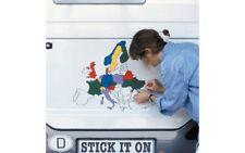 Aufkleber Set Europa Wohnmobil Caravan Deko NEU