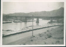 1947 Pakistan North West frontier Attock Bridge River Indus
