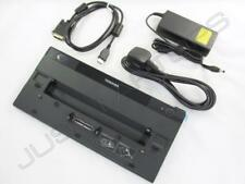 NUEVO Toshiba Portege r700-s1330 USB 3.0 replicador de Puertos Estación + 90w