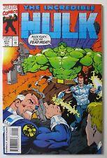 The Incredible Hulk #411 1993 Marvel (C5454) 1st Series vs. Shield Nick Fury