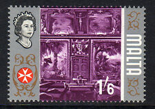 MALTA 1965 1/6d WITH GOLD (CENTRE) OMITTED SG 342b MNH.