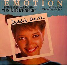 ++DEBBIE DAVIS emotion/black lagoon FRANÇOIS VALERY BO SP 1984 EX++