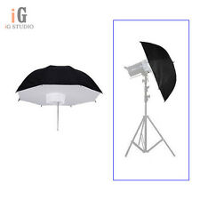"110cm/43"" Umbrella Softbox Soft Box Brolly Reflector For Studio Flash Strobe"