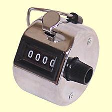 Mechanischer Hand Zähler Schritt Stück Mengen Personen Counter Metall Klicker