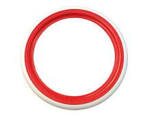 Flanc liseret blanc/rouge 15 pouces