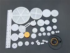 34 styles Plastic Gears Pulley Module 0.5 Robot Parts DIY Necessary Model Toys