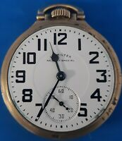 Hamilton Grade 992, Size16 Railway Special Pocket Watch.FREE PRIORITY SHIPPING.