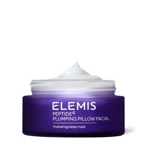 Elemis Peptide4 Plumping Pillow Facial Hydrating Sleep Mask 1.6 Oz New In Box