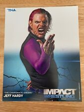 JEFF HARDY OFFICIAL 2011 TNA WRESTLING 8X10 PROMO PHOTO UN-SIGNED WWE ECW AEW