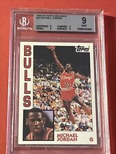 MICHAEL JORDAN 1992-93 TOPPS ARCHIVES #52 BULLS BGS 9 MINT