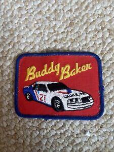 Buddy Baker Valvoline Racing Embroidered NASCAR Patch