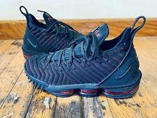 Nike A02588 002 LeBron James 16 XVI Basketball Sneaker Bred Men's Size 8