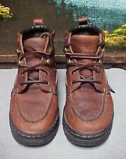 Justin Brand Leather Chukka Hiking Work Boots Women's Size 4.5 Medium