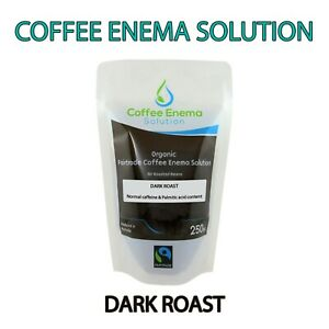 COFFEE ENEMA SOLUTION DARK AIR ROASTED - 50 POUCHES - GERSON ORGANIC FAIRTRADE
