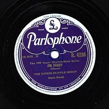 1957 SKIFFLE 78 THE VIPERS  JIM DANDY / HEY LILEY, LILEY LO  PARLOPHONE R4286 E-