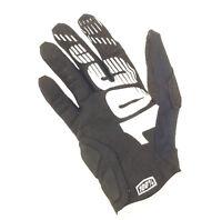 100% Simi Full Finger Cycling Gloves, Black, Medium
