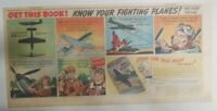 """Coca-Cola War Time Ad:""""P-51 Mustang Airplane"""" 1943 Size: 7.5 x 15 inch"""